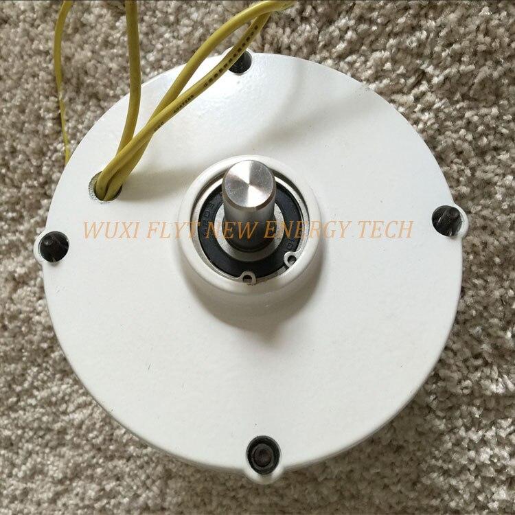 Alterador horizontal vertical d'alternateur de générateur d'aimant permanent à ca de 200ws 12 v