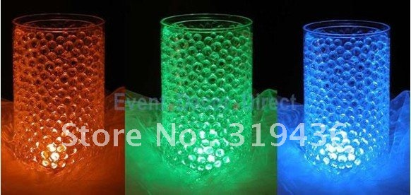 Free Shipping Rainbow Glow Crystal Water Pearl Beads For Waterproof