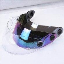 Originale JIEKAI 105 del motociclo parabrezza jiekai vetro casco jiekai 150 casco visiera 3 colori disponibili