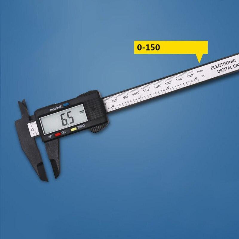 Digital Caliper 150mm Micrometer Auto Measuring Tools Digital Scale Ruler With Screen Depth Gauge Vernier Accurate Instrument