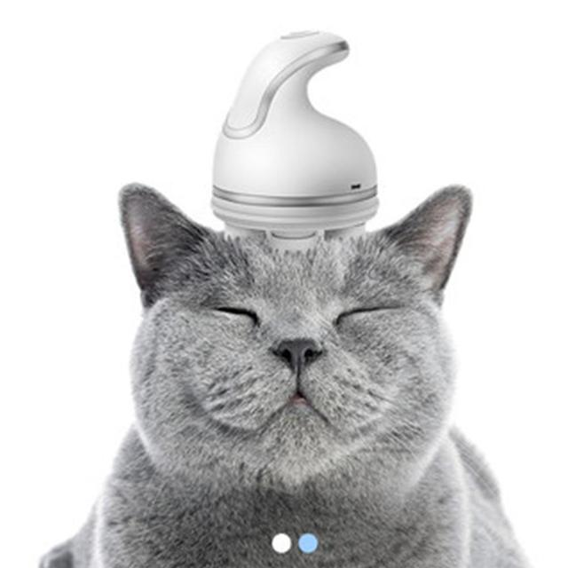 USB Charge Claw-shaped Cat Head Massager 2
