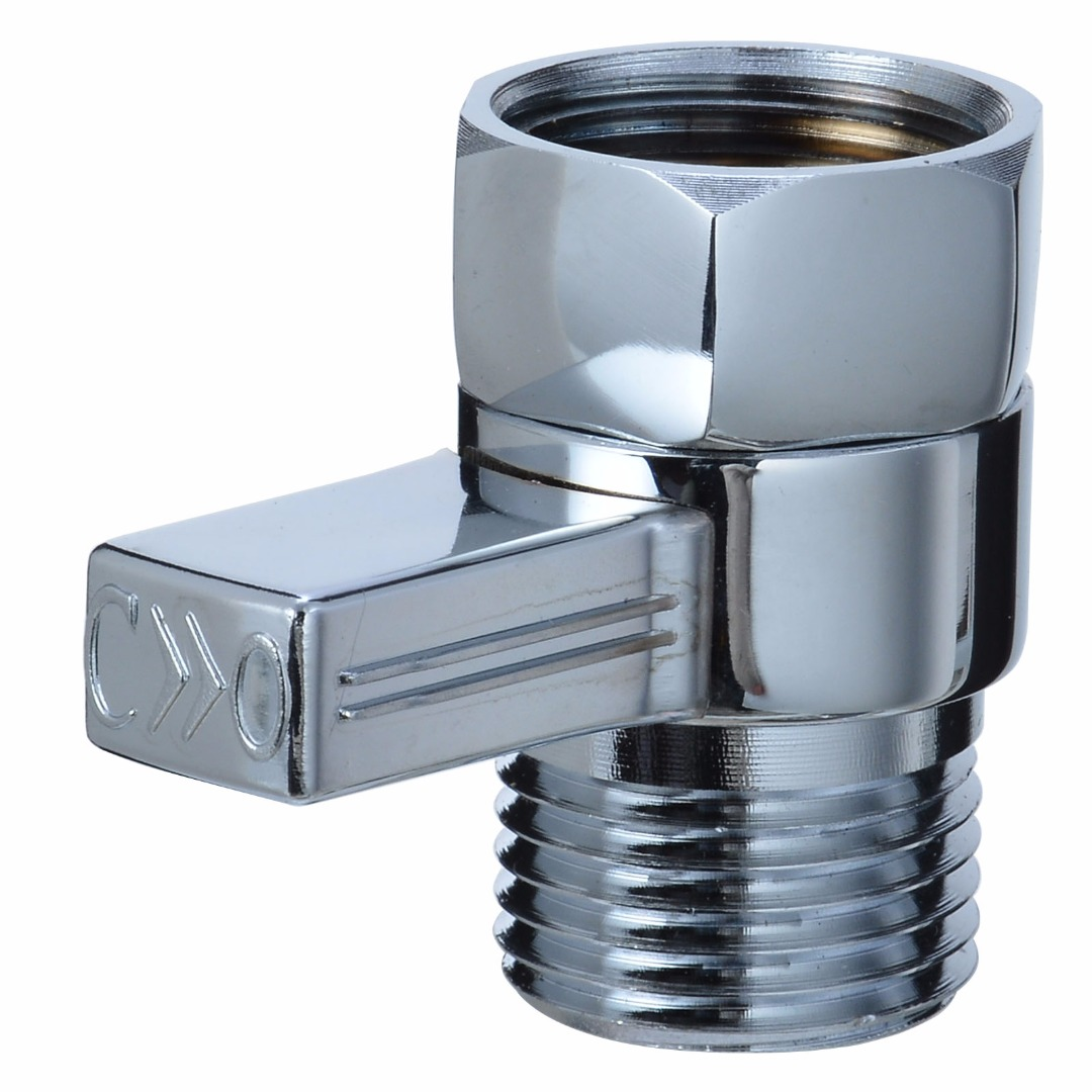 1pc Brass Water Flow Control Shut Off Valve Shower Head Sprayer Valves Shower Stop Switch Valve Mayitr