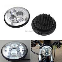 7'' 40W LED Projection Headlight for Harley Davidson Triumph Victory Honda Kawasaki Yamaha Cruiser Motorcycle