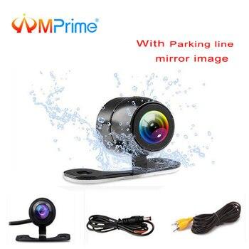 Amprime Auto Mobil Tampak Belakang Kamera CCD HD Reverse Backup Tahan Air Kamera Parkir Monitor Membantu Universal Depan Belakang Kamera