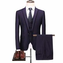 0bc065b6f66 Высококлассный деловой Повседневный однотонный пиджак с лацканами