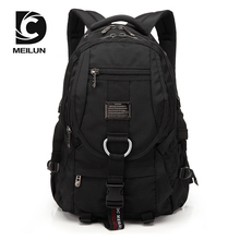 DC.MEILUN Retro Men Backpack Large Capacity Travel Bagpack Mountaineering Motion Bag Laptop Male Multifunctional Plecak