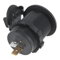 Universal 3.1A 12V  Waterproof Dual USB Car / Motorcycle Cigarette Lighter Charger