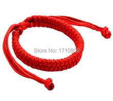 Hot Fashion Jewelry 5Handmade Braided Lucky Red String Charm Woman Good Luck Bracelets&Bangle B532