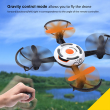 Dron QS007 2.4G Gravity Sense Control Altitude Hold RC Drone Flying Quadcopter Outdoors Drones