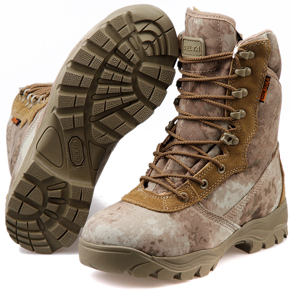 New Men Lace Up Breathable A-TACS DESERT Hiking boots Army Military Boots  Tactical Lightweight Combat Boots(130505) 12c3a8555746