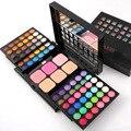 Smoky Matte Makeup Eyeshadow Palette 72 Colors Shimmer Nude Eye Shadow Palette Pressed Blush Make Up Face Powder