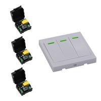 New Arrival RF Mini Wireless Remote Control AC 220 V 1 CH Household Light Bulb Control