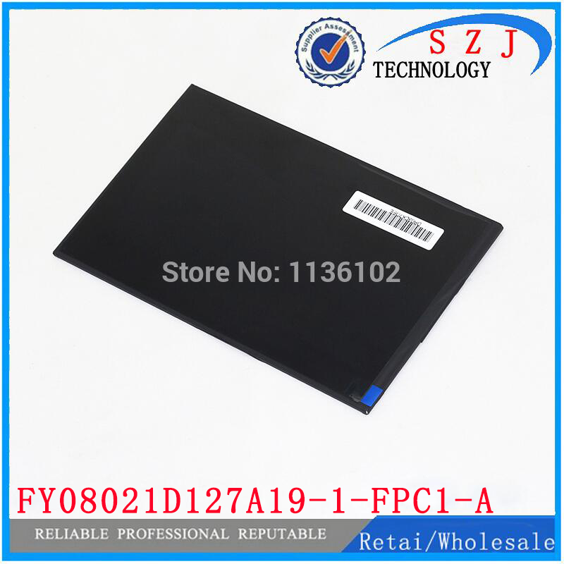 New 8'' inch Tablet LCD Display FY08021D127A19-1-FPC1-A Tablet PC LCD screen panel Replacement Free shipping new 8 inch tablet lcd screen hx080wq65xg 080wq65xg lcd display free shipping