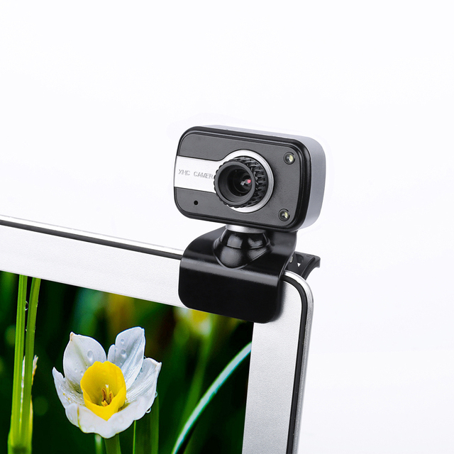 360 Degree Rotation USB Webcam 12M Pixels HD Clip-on Web Cam Camera With Microphone MIC for Computer Laptop PC High Quality 3