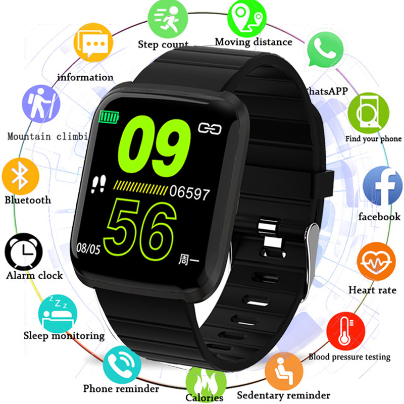 Smart Watch Men Blood Pressure Waterproof Bluetooth Smartwatch Women Heart Rate Monitor Fitness Tracker Watch For Android IOS(China)