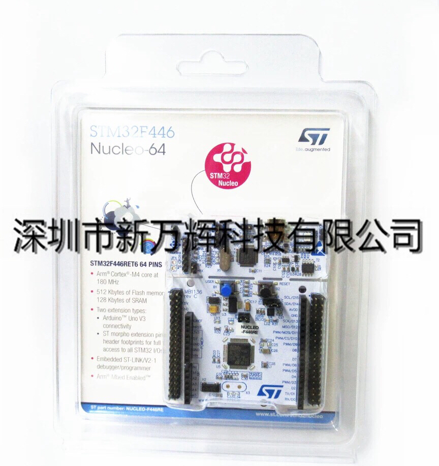 1PCS~2PCS/LOT  NUCLEO-F446RE  NUCLEO-64  STM32F446  Development Board Learning Board