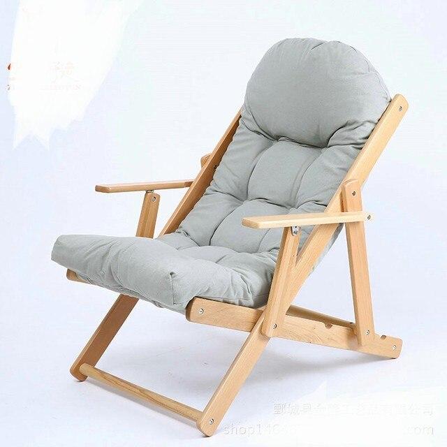 US $311.49 11% di SCONTO|Chaise Lounge Mobili Soggiorno Mobili Per La Casa  letto pieghevole divano sedia balcone camera da letto salotto sedia ...