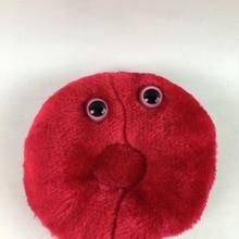 Красная кровяная клетка Плюшевые игрушки высокого качества для обучения РБК Мягкая кукла