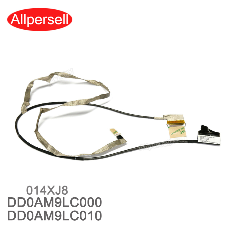 New LCD Video Cable for <font><b>Dell</b></font> <font><b>Inspiron</b></font> 15-7000 7557 7559 <font><b>5577</b></font> 5576 DD0AM9LC010 014XJ8 laptop Screen Cable image