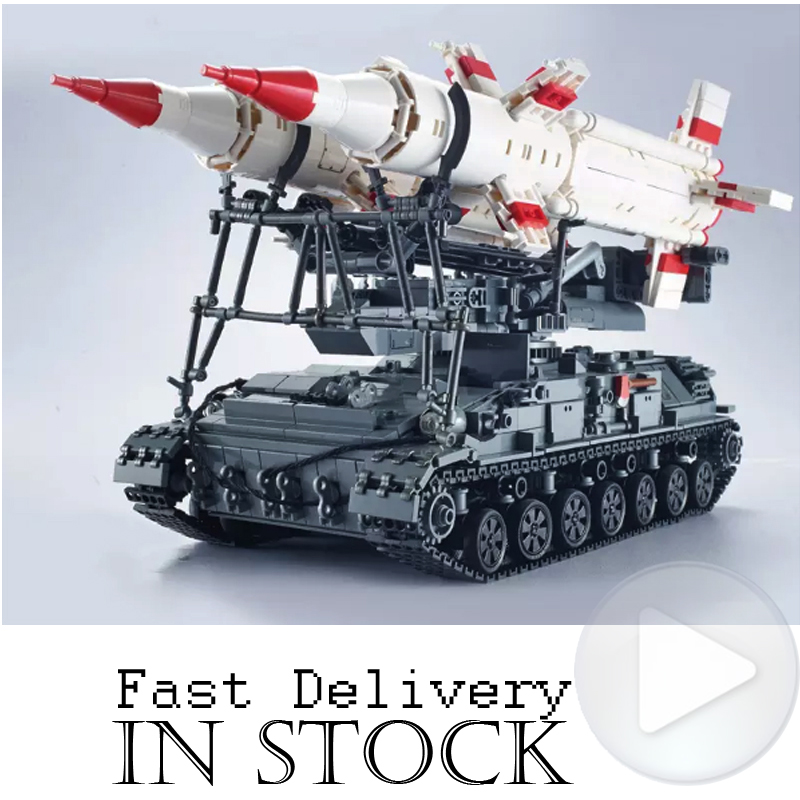 XingBao 06007 SA-4 GANEF Military Army Tank Building Blocks Bricks Toys Educational For Children brinquedos Compatible legoINGlyXingBao 06007 SA-4 GANEF Military Army Tank Building Blocks Bricks Toys Educational For Children brinquedos Compatible legoINGly