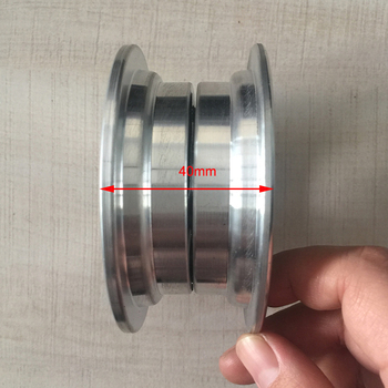 Rim Set 6X2 with bearings 628z or 6000 for 6 Inch Electric Mobility