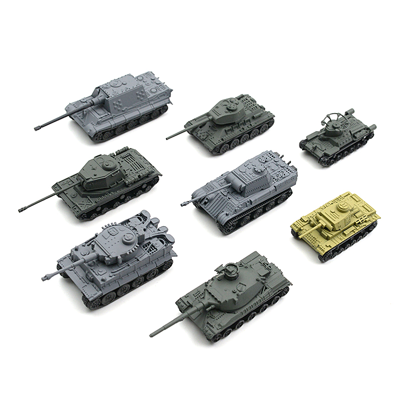 Special Section Sand Table Plastic Tiger Tanks World War Ii Germany Panther Tank Finished Model Toy Latest Technology Toys & Hobbies