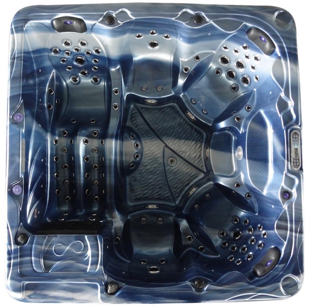 Portable whirlpool bathtub outdoor spa pool make in China 1805