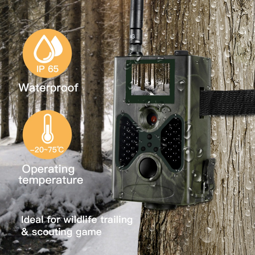 Image 5 - Suntekcam HC330LTE 4G Trail Camera Hunting Camera 16MP 1080P SMTP SMS Infrared Cameras IR Wild Game Trail Cameras Photo Trap-in Hunting Cameras from Sports & Entertainment