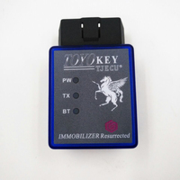 TOYO KEY OBD II KEY PRO Support All Key Lost for Toyota G & H Chip Work with MINI CN900 & MINI ND900 Bluetooth Connection