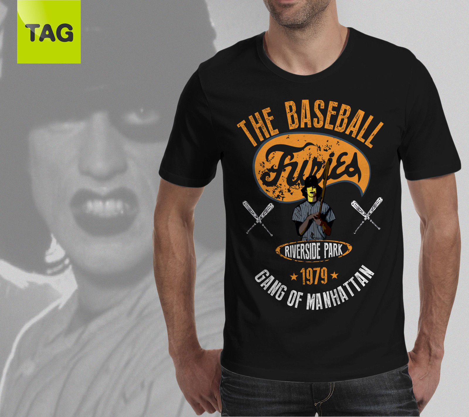 Hot New 2019 Summer Fashion T-shirt FURIES Movie BASEBALL - 1979 Vintage THE WARRIORS Tee Shirt