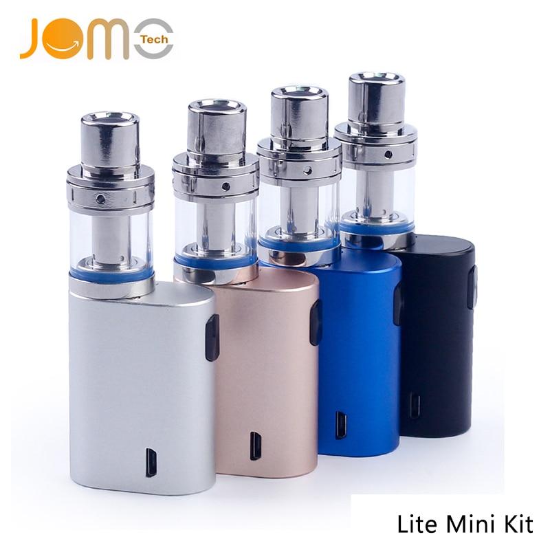 D'origine JOMOTECH Ecigarette Lite 35 w Mini Kit Haut Débit D'air Réglable avec 2 ml Atomiseur et Construit en 850 mah batterie vape mod
