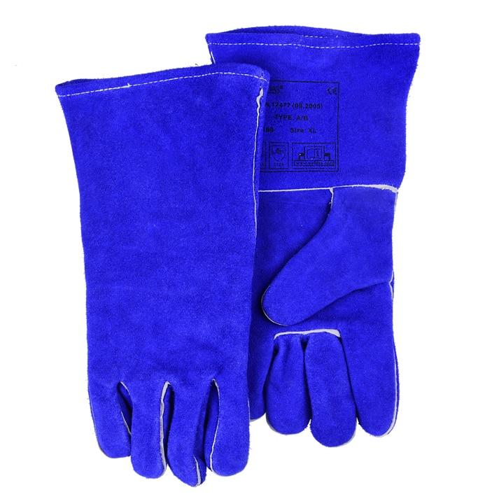 ถุงมือทำงานหนัง TIG MIG - ความปลอดภัยและการป้องกัน