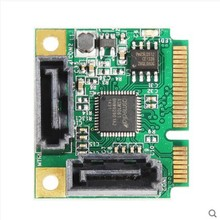 music expansion MINI PCI-E extension card SATA3.0 Mini PCIE hard disk expansion card 2 mouth