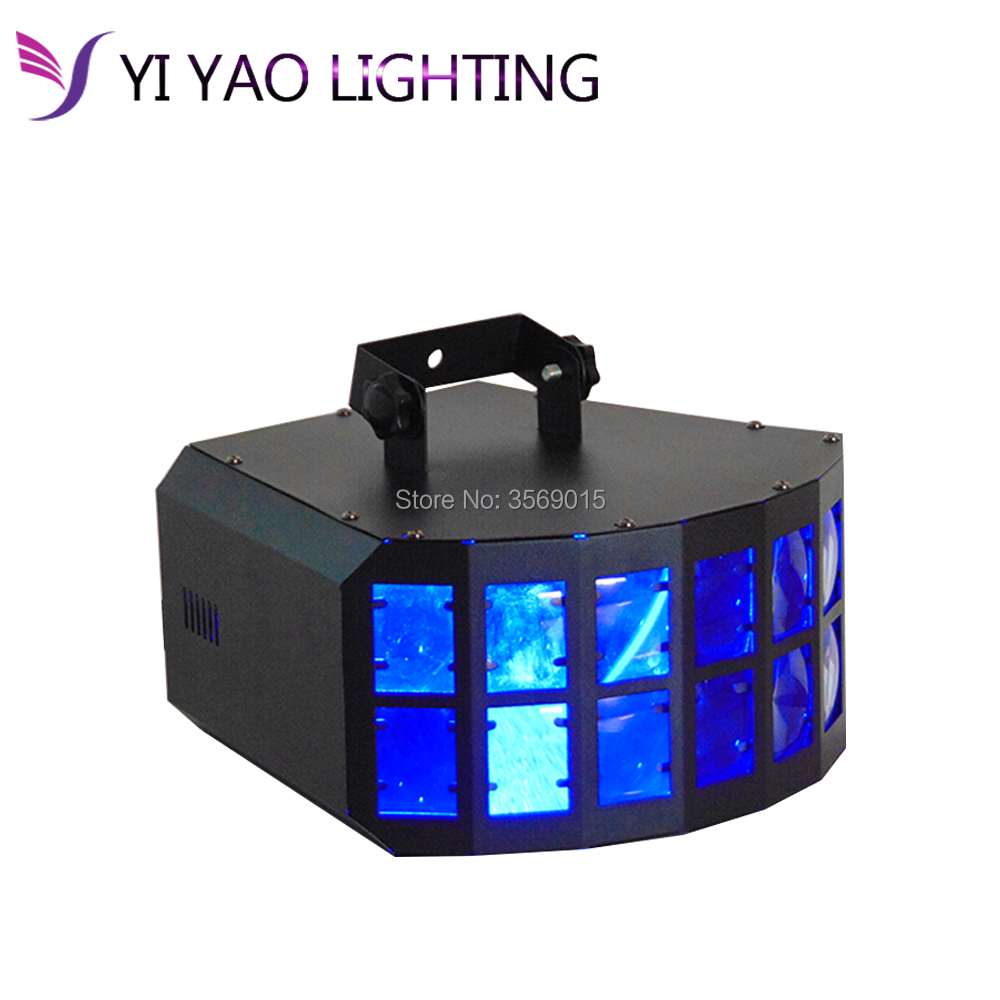 30W LED Butterfly Stage Light DMX512 RGBW Indoor LED Stage Lights Disco Party DJ Projector KTV nightclub bar tommy hilfiger new white navy women s size 16 slim skinny striped jeans $79 394