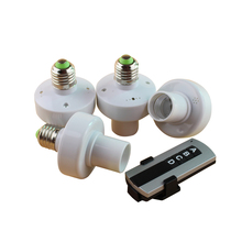 4/pcs E27 Screw Frequency 315M Wireless Remote Control Lamp Holder 30 Meters