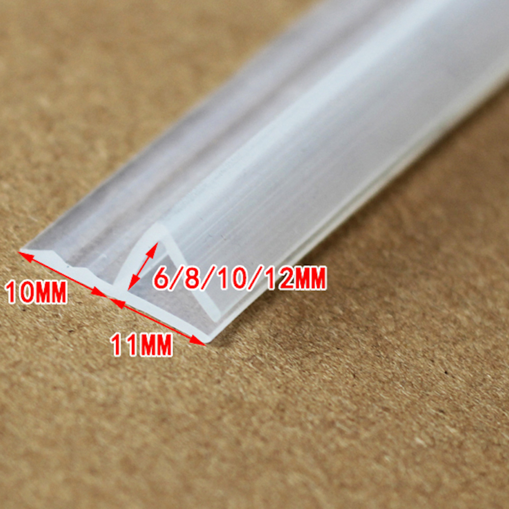 6mm Glass Seals Frameless Shower Door Window Balcony Screen Sealing