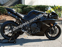 Hot Sales,For Yamaha YZF 1000 R1 2012 2013 2014 ASB Parts YZF R1 All Black Bodywork Motorcycle Fairing Kit (Injection molding)