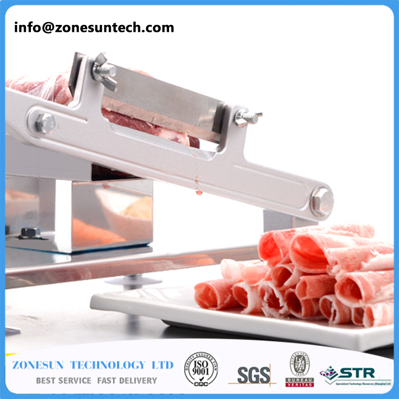 alloy steel  manual Frozen meat slicerhandle meat cutting machineVegetable slicing machineMutton rolls machine