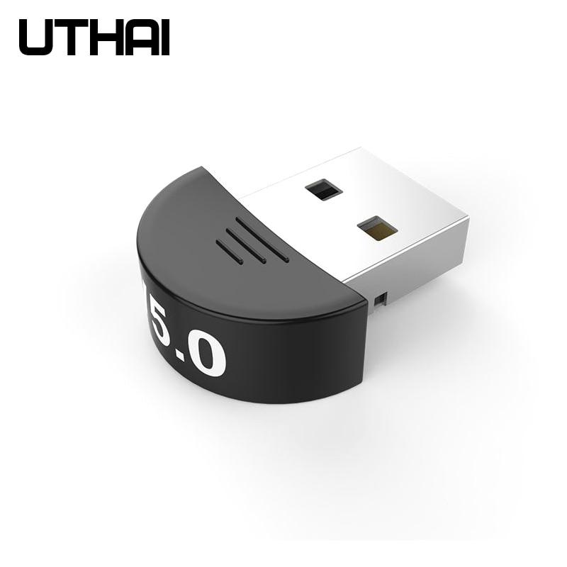 UTHAI T03 Bluetooth5.0 Adapter Audio USB Receiver Transmitter Computer Free Drive Bluetooth Adapter