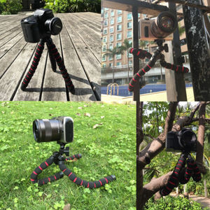 """Image 5 - Große Octopus Spinne Flexible Tragbare Kamera Stativ für A7 GH5 600D DSLR Kamera Stand 1/4 """"3/8"""" Schraube montieren"""