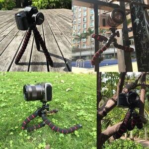 "Image 5 - גדול תמנון עכביש גמיש נייד מצלמה חצובה Stand עבור A7 GH5 600D DSLR מצלמה Stand 1/4 ""3/8"" בורג הר"
