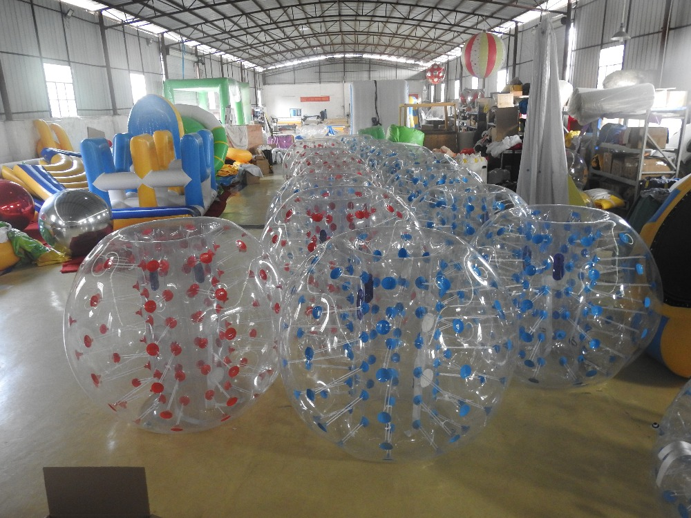 0.8mm PVC 1.2m 1.5m 1.8m Air Bumper Ball Body Zorb Ball Bubble football,Bubble Soccer Zorb Ball On Sale