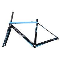 850g Super Light Carbon Road Bike Frame 56cm BB86 Or BB30 Toray Carbon Racing Frame UD