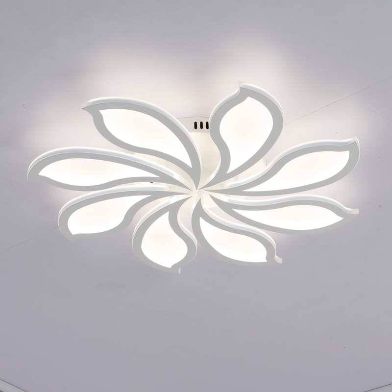 Acrylic Kids Lamp Modern Led Ceiling Light With Remote Control Living Room Bedroom Dimming Decor Home Lighting Fixtures 220V