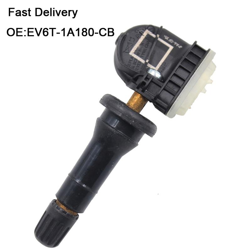 YAOPEI Originální snímač TPMS EV6T-1A180-CB EV6T-1A150-CB Snímač tlaku v pneumatikách pro Ford Fiesta Focus C-Max Kuga 433MHz