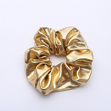 1PC Fashion Women New Gold Black Elastic Hair Bands Ponytail Holder Rubber Bands Elegant Tie Gum Hair Rope Lady Hair Accessories crystal pearls elastic hair bands 2016 new fashion hair holders rubber bands girl women hair accessories tie gum free shipping