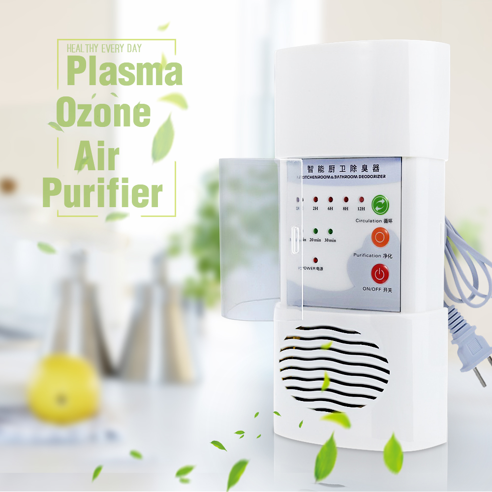 7w Air Ozonizer Plasma Ozone Air Purifier Home Office Germicidal Electric Oxygen Concentrator Filter Cleaner Deodorizer