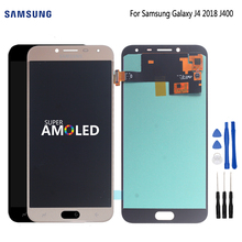 AMOLED Original LCD for Samsung Galaxy J4 2018 Screen Display Touch Screen Digitizer Assembly Replacement J400 J400F Free Tools 100% original for samsung galaxy s3 mini i8190 lcd display with touch screen assembly white replacement parts free tracking no
