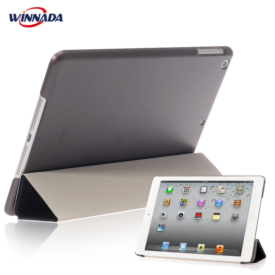 все цены на New arrival Case for Apple ipad mini 1 / 2 / 3 ultrathin flip three foldings stand PU leather tablet PC Cover shell capa coque