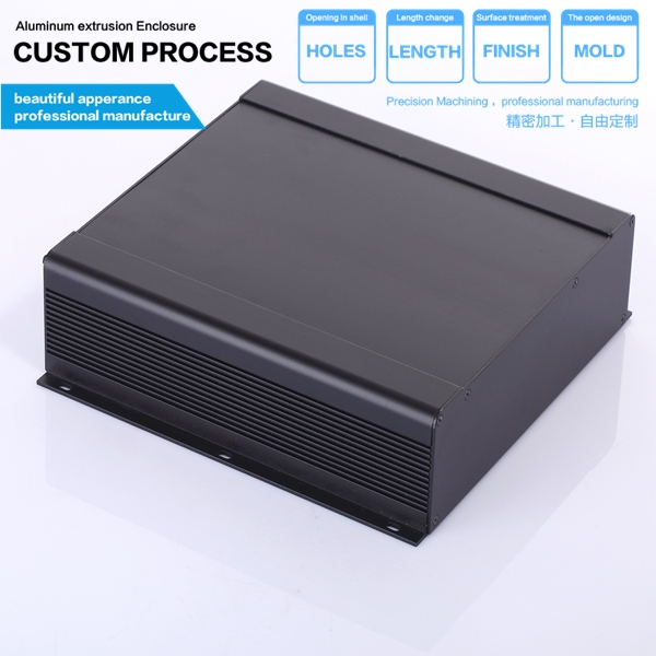 250*73.5-250 mm (wxh-l) electrical power control server aluminum alloy metal chassis housing 250